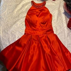 Homecoming red dress
